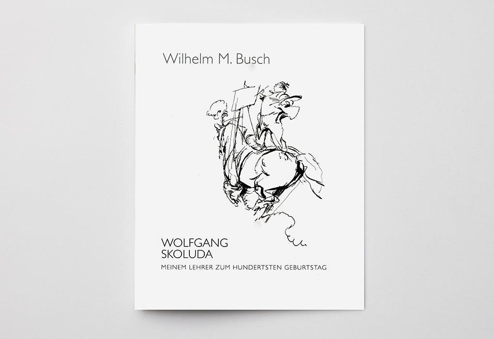 publikation wilhelm m busch meinem lehrer zum 100 geburtstag wolfgang skoluda schmuck. Black Bedroom Furniture Sets. Home Design Ideas